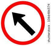 go to the left by the arrow... | Shutterstock .eps vector #1066486574