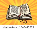 ancient book  religion  fairy... | Shutterstock .eps vector #1066499399