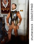 Small photo of MADRID, SPAIN - MAR 28, 2018: Philip II ( the Prudent , King of Spain, Dynasty of Austrias, Wax Museum in Madrid