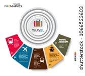 travel  infographics ...   Shutterstock .eps vector #1066523603
