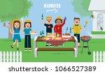 illustration vector of friends... | Shutterstock .eps vector #1066527389