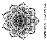 mandalas for coloring book.... | Shutterstock .eps vector #1066528466