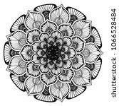 mandalas for coloring book.... | Shutterstock .eps vector #1066528484