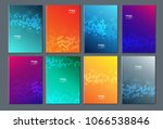 technology or modern abstract... | Shutterstock .eps vector #1066538846