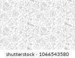 vector industry pattern.... | Shutterstock .eps vector #1066543580