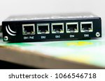 Network Switch Front Panel Wit...