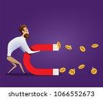 business concept of businessman ... | Shutterstock .eps vector #1066552673