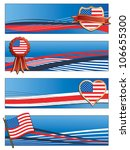 horizontal united states of... | Shutterstock .eps vector #106655300