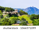 large house in the hills of... | Shutterstock . vector #1066571099