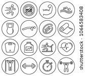 editable stroke. simple set of...   Shutterstock .eps vector #1066583408