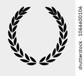 beground white laurel wreath... | Shutterstock .eps vector #1066600106