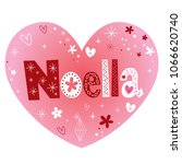 noella   genuinely excellent... | Shutterstock .eps vector #1066620740