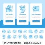 onboarding app screens of data... | Shutterstock .eps vector #1066626326