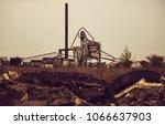 contruction  factory enterprise | Shutterstock . vector #1066637903