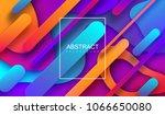 modern minimalist cover design. ... | Shutterstock .eps vector #1066650080