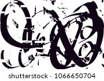 distressed background in black...   Shutterstock .eps vector #1066650704