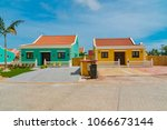 oranjestad  aruba   january 15... | Shutterstock . vector #1066673144