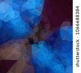 abstract colored polygonal... | Shutterstock . vector #1066688384