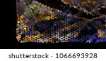 abstract background. spotted... | Shutterstock . vector #1066693928