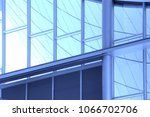 steel and glass in shades of... | Shutterstock . vector #1066702706