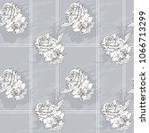 gray monochrome pattern for... | Shutterstock .eps vector #1066713299