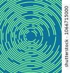 abstract minimal vector... | Shutterstock .eps vector #1066715000