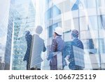 group of business people... | Shutterstock . vector #1066725119