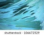 Blue Sea Wave  Painting ...
