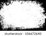 black and white grunge frames | Shutterstock . vector #106672640