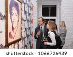 people at the artist andy... | Shutterstock . vector #1066726439