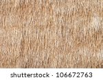 Texture Of Hay Bale Background...