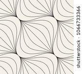 vector seamless pattern. modern ... | Shutterstock .eps vector #1066733366