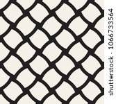 vector geometric seamless... | Shutterstock .eps vector #1066733564