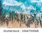 coastal beach sunset   Shutterstock . vector #1066743068