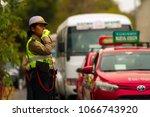 arequipa  peru   february 6 ... | Shutterstock . vector #1066743920