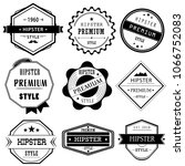 icon vector symbol sign retro... | Shutterstock .eps vector #1066752083