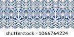 ikat seamless pattern. vector... | Shutterstock .eps vector #1066764224