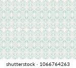 ikat seamless pattern. vector... | Shutterstock .eps vector #1066764263