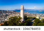 san francisco coit tower during ... | Shutterstock . vector #1066786853