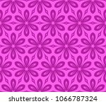 seamless lace floral background.... | Shutterstock .eps vector #1066787324