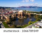 san francisco palace of fine... | Shutterstock . vector #1066789349