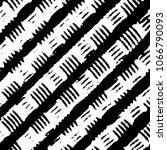 black and white grunge stripe...   Shutterstock . vector #1066790093