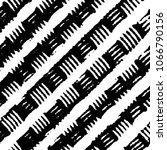 black and white grunge stripe...   Shutterstock . vector #1066790156