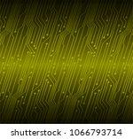 binary circuit board future... | Shutterstock .eps vector #1066793714