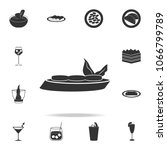 bruschetta icon. detailed set... | Shutterstock .eps vector #1066799789