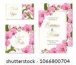 wedding marriage event... | Shutterstock .eps vector #1066800704
