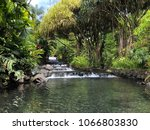 costa rica tabacon hot springs... | Shutterstock . vector #1066803830