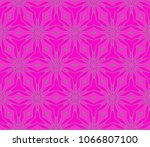 beautiful geometric ornament.... | Shutterstock .eps vector #1066807100