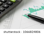 financial equity  stock... | Shutterstock . vector #1066824806