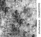 grunge texture black and white... | Shutterstock . vector #1066835990